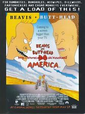 Beavis & Butt-Head Do America Cinema  1997 Magazine Advert #4151