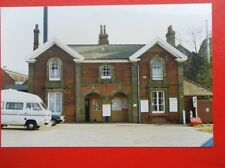 PHOTO  MISTLEY RAILWAY STATION ESSEX  1994 STATION EXTERIOR