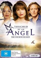 TOUCHED BY AN ANGEL - SEASON 4 - DVD - Region 2 UK Compatible - sealed