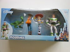 TOY STORY FIGURINE PLAY SET 4 pc Rex, Woody, Jessie, Buzz Light Year DISNEY