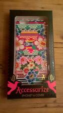 "APPLE I.PHONE 6 MONSOON ACCESSORIZE "" AZTEC FLORAL "" DESIGN MOBILE PHONE COVER"