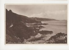 Divette Bay From Pine Forest Guernsey Vintage RP Postcard 298b