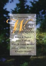 Writing Clear Paragraphs by Lillian Griffith Wargetz, Kathleen Werner, Betty...