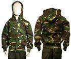 KIDS BOYS CHILDRENS CAMO ZIP HOODY HOODIE AGE 3/4 5/6 7/8 9/10 11/12 12/13 YEARS