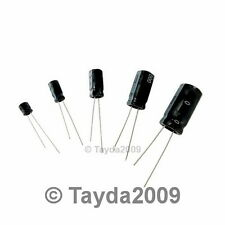 2 x 470uF 100V 105C Radial Electrolytic Capacitor 16x26mm - Free Shipping