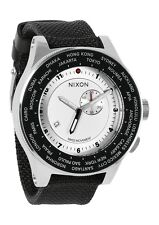 AUTHENTIC NIXON PASSPORT WATCH WHITE/SILVER/NAVY A321 1433 A3211433 NEW IN BOX!