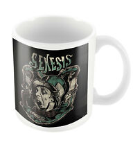 Official Genesis Mad Hatter Mug New Rock Metal Band Merch Coffee Boxed Invisible