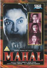 MAHAL - ASHOK KUMAR - MADHUBALA - NEW BOLLYWOOD DVD - FREE UK POST