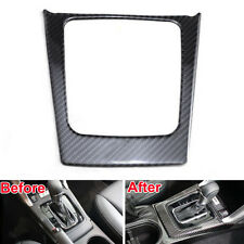 Middle Console Gear Box Decoration Trim Frame Carbon Fiber for Forester 2014 15