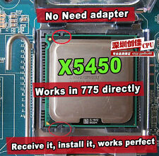 Intel Xeon X5450 3GHz Quad-Core Processor Compatible LGA775 No Need Adapter cpu