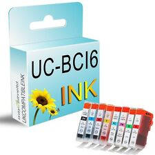 8 Ink Cartridge Replace For BCI6 Canon Bubble Jet i9900 i9950 Pixma IP8500