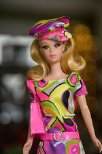 Barbie Blonde No Bangs Repro TNT Francie Doll - in Gorgeous Mod outfit!