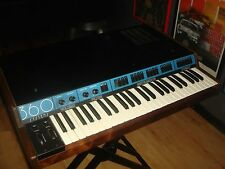 1982 Vintage 360 SYSTEMS KEYBOARD SYNTHESIZER with MIDI and ANVIL CASE Reduced!!