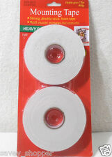 FREE SHIP**2 ROLLS-DOUBLE SIDED FOAM MOUNTING TAPE*FREE SHIP**