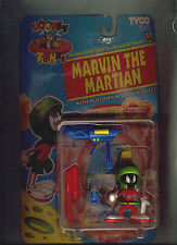 MARVIN THE MARTIAN LOONEY TUNES FIGURE WITH PLUTONIUM 2000 MISSILE 1993 TYCO MOC