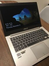 Asus ZenBook UX31a laptop Intel Core i7 processor 256gb SSD hard drive