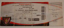 OLD TICKET EL Honved Budapest Hungary Anzhi Makhachkala Russia