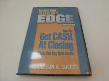 Carlton Sheets How To Get Cash At Closing Investor's Edge Library DVD Video NEW