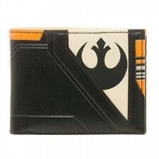 OFFICIAL STAR WARS BLACK SQUADRON COSTUME STYLED BI-FOLD WALLET (BRAND NEW)