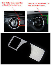 head light switch button cover trim For Mercedes Benz ML W166 /GL X166 2012-2015