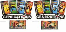 Lot of 10 X Pokemon Generations Booster Packs Sealed Boosters Unsearched Pack