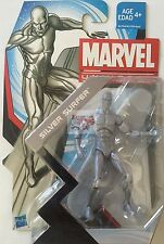 "SILVER SURFER Fantastic Four MARVEL UNIVERSE Hasbro 3.75"" Inch ACTION FIGURE"