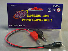 MTH RAIL KING REAL DCS TIU/BARREL JACK POWER  ADAPTER CABLE train 50-1017