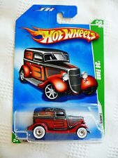 Hot Wheels SUPER TREASURE HUNT 1934 FORD '34 Ford Sedan Delivery Panel 2009 STH