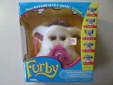 2005 Emototronic Furby doll, white w/brown eyes, Brand New Sealed, needs battery