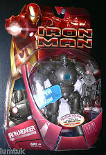 Hasbro Marvel BLUE ARC REACTOR variant Monger Iron Man Movie Figure NEW 2008