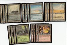 Magic the Gathering MTG**20x*Onslaught Cycle Lands*NM-SP*4x of each type*