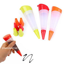 Silicone Cake Pen DIY Pastry Cookie Decorating Cream Decor Pen Baking Tool Set
