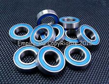 ABEC-3 (5 PCS) 6902-2RS 6902RS (15x28x7 mm) Rubber Sealed Ball Bearing Blue