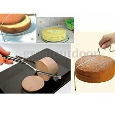 Stainless steel Adjustable Wire Small Bread Cake Cutter Leveler Slicer Decor