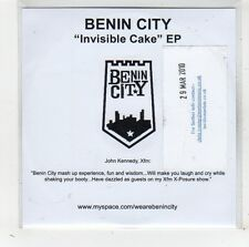 (FW353) Benin City, Invisible Cake EP - 2010 DJ CD