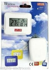 W-8685 WIRELESS INDOOR OUTDOOR THERMOMETER CLOCK W8685