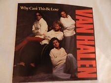 "Van Halen ""Why Can't This Be Love"" PICTURE SLEEVE! MINT! ONLY NEW COPY ON eBAY!"