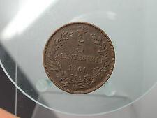 5 Centesimi 1861 M Italien  (140216)