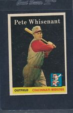 1958 Topps #466 Pete Whisenant Reds EX 58T466-72516-1