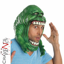 Adults Slimer Ghostbusters Mask Headpiece Halloween Fancy Dress Costume Accesory