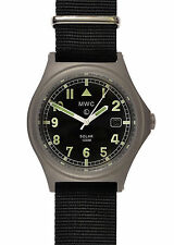 MWC G10 100m Solar Powered Titanium Military Watch - May Need Capacitor Recharge