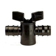 9mm x 9mm - 2 VIE TUBO flusso rubinetto rubinetto irrigazione STAGNO TUBO RACCORDO # 33b260