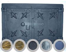 old cast iron fire door / bread oven door / stove smoke / COLORS / 480 x 330mm