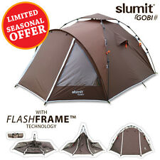 NEW HIGH SPEC QUICK PITCH POP UP CAMPING TENT 2 - 3 PERSON MAN BERTH