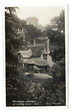 Selworthy - Real Photo Postcard c1915 / Minehead / Vowles