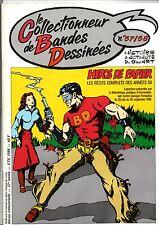 CBD n°57 58  - Le Collectionneur de Bandes Dessinées Héros des récits complets