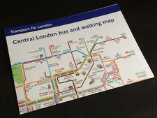 Central London tube, bus and walking map - Transport for London.