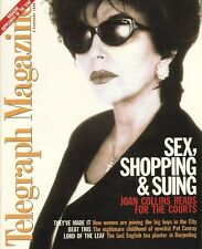 JOAN COLLINS - British TELEGRAPH MAGAZINE February 3rd 1996 C#10