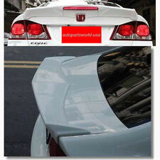 Honda Civic FD 2006 07 2008 09 10 2011 Rear Wing Spoiler with LED No Color Paint