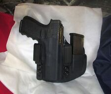 CUSTOM Kydex IWB Holster with extra Mag Carrier for Glock 19 / 23 / 32